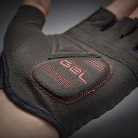 GripGrab Solara Lightweight Padded Tan Through Short Finger Gloves navy